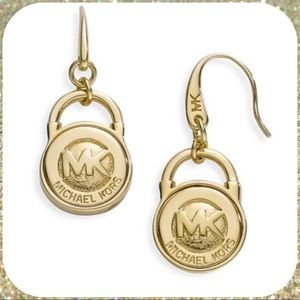 Michael Kors Logo Earrings